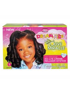 African Pride Dream Kids Olive Miracle No Lye Relaxer