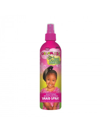 African Pride Dream Kids Olive Miracle Smoothing Moisturizing Braid Spray