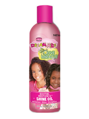 African Pride Dream Kids Olive Miracle Soothe Restore & Shine Oil