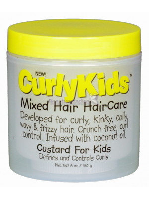 Curly Kids Mixed Hair Haircare Custard For Kids