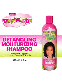 African Pride Dream Kids Olive Miracle Detangling Schampo 355 ml