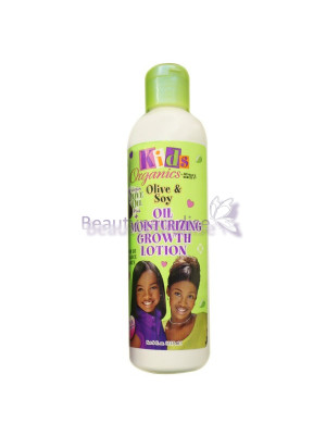 Africas Best Kids Organics Olive and Soy Oil Moisturizing Growth Lotion