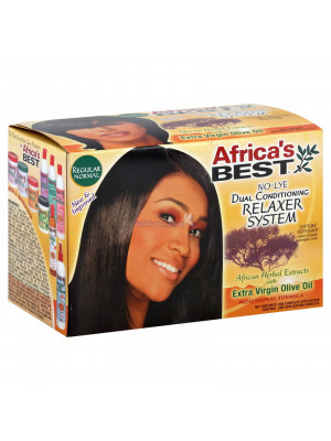 Africas Best Dual Conditioning No-Lye Relaxer System