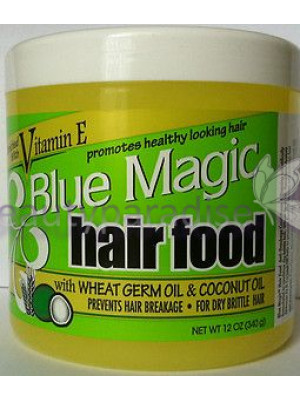Blue Magic Hair Food with Wheat and Coconut Oil  340g