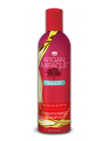 African Pride Argan Miracle Moisture And Shine Conditioning Shampoo