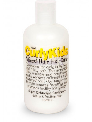 Curly Kids Mixed Hair Haircare Super Detangling Conditioner