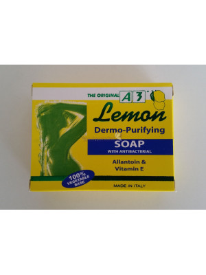 A3 Lemon Soap Dermo-Purifying with Antibacteria 100g
