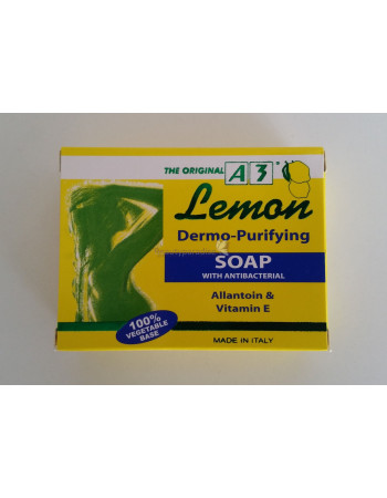 A3 Lemon Soap Dermo-Purifying with Antibacteria