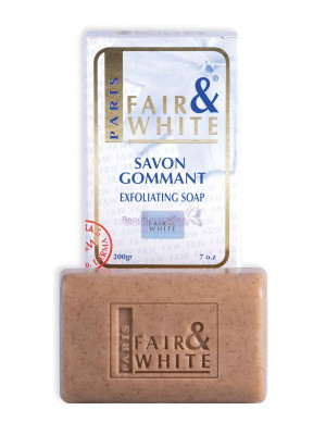 Fair And white Original Savon Gommant Exfoliating Soap