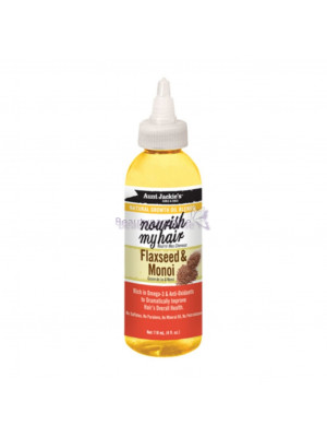 Aunt Jackie's Nourish My Hair Flaxseed And Monoi Natural Growth Oil