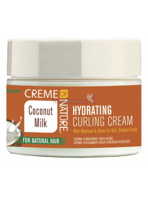 Creme of Nature Coconut Milk Hydrating Curling Cream