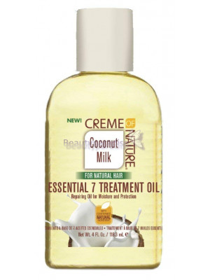Creme of Nature Coconut Milk Essential 7 Treatment Oil