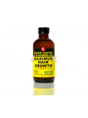 Eco Styler Black Castor & Flaxseed Max Hair Growth Oil