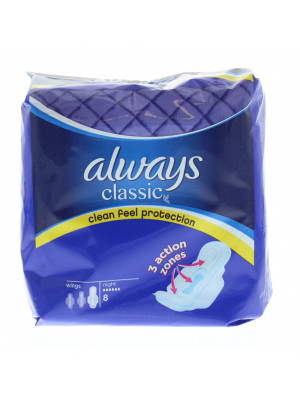Always Classic Night Pads 8 ST
