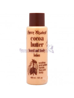 Queen Elisabeth Cocoa Butter Hand and Body Lotion 400ml