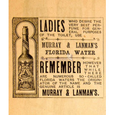 MURRAY & LANMAN FLORIDA WATER ORIGINAL COLOGNE