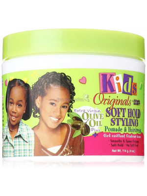Africas Best Kids Organics Soft Hold Styling Pomade And Hairdress