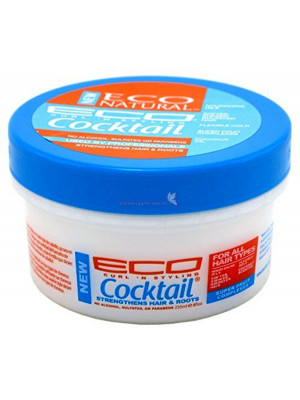 Eco Styler Eco Natural Cocktail Super Fruit Complex Hair Crème Leave In Conditioner 235ml