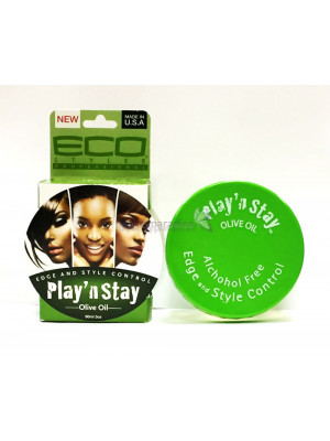 Eco Styler Play 'N Stay Olive Oil Edge And Style Control